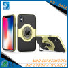 Leather Cell Phone Case with Ring Holder for iPhone 8 Plus