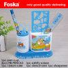 Blue Color Plastic Fancy Design Kids Stationery Set