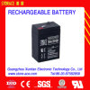 6V4ah (3FM4) Sealed Lead Acid Rechargeable Battery