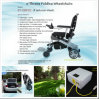 Ce Approved Power Wheelchair for Handicapped/Disabled, Lightweight, Portable