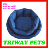 High Quaulity Denim Lotus Shaped Pet Bed (WY161026A/B)
