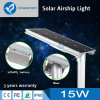 15W Solar Products LED Garden Street Lamp with Solar Panel