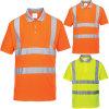 Hi-Viz 100%Cotton Single Jersey Polo Shirt