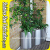 Stainless Steel Flower Pot Garden Planter Half Planter Pot