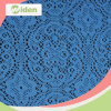 150cm Popular Embroidery African Blue Lace Fabric