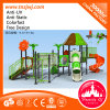 Commercial Kids Plastic Slides Preschool Outdoor Playground