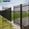Spear Top Steel Fence / Security Fence / Garrison Fence
