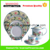 New Design Ceramic Dinner Set with Plates Dishs Cups