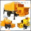 Selling Construction Sand Cement Concrete Trailer Pump