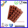 Hot Selling FDA Standard 16 Cups Black Square Ice Mold