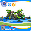 Newest Outdoor Playground with Multiple Slides