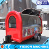 Quick Meal Mobile Electric Food Cart Trailer Stall