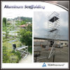 Multi-Use Aluminum Mobile Scaffolding with Ladders