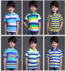 2017 Fashion 100% Cotton Children's Sport Wear Polo T-Shirt