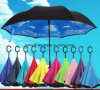 New Items Portable Handsfree Straight Reverse Inverted Umbrella