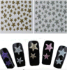 Fashionable 3D Star Decal Decoration Nail Art Stickers Nail Sticker