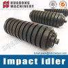 Belt Conveyor Impact Roller Idler with Rubber