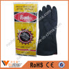 Black Oil Resistant Industrial Natural Latex Work Gloves