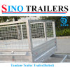 Low Price Tandem Axle Box Trailer
