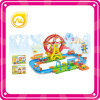 Newest Ferris Wheel Train Track Block with Light and Music