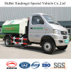 3cbm Kama Electric Hook Arm Type Garbage Carriage Delivering Transport Truck