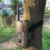 Camouflage Frame Hc-500m Sport HD Hunting Trail Cameras 12MP GPRS GSM SMS Wildlife Camera