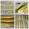 High Quality Hot Foil Stamping Gold Transfer Film