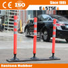 Round Base Flexible Polypropylene Plastic Road Delineator Post