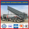 30 Cubic Cimc 3 Axle U Shape Tipper Semi Trailer