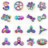 Finger Gyro Spinner Stainless Steeling Bearing Ball Fidget Rainbow Spinner