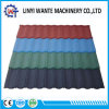 Construction Material Colorful Bond Model Stone Coated Metal Roof Tile