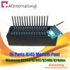 16 Ports RJ45 Modem Pool with 16 SIM Card, Industrial LAN Modem Pool