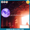 Custom Made Event / Stage Decoration Inflatable Globe Ball with Color Changing LED Light for Sale
