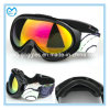 Black TPU UV 400 PC Ski Sporting Kids Goggles