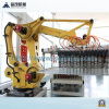 Robot Stacking System Soil Brick Making Machine