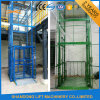 Vertical Guide Rail Elevators Hydraulic Warehouse Cargo Lift