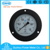 Ce Approved 1MPa 100mm 4′′ Steel Case General Pressure Gauge