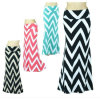 Chevron High Wide Waistband Lady Skirt/ Maxi Skirt (HSL002)