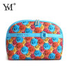 Shell Shape Printed Flower Cosmetic Bag