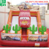 Crazy Inflatable Cool Racing Car, Funny Inflatable Slide (BJ-KY38)