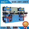 New Design Efficient Dual - Station Low - Price Rubber Flat Vulcanizing Machine