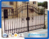 European Ornamental Residential Safety Wrought Iron Gate (dhgate-10)