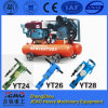 Low Oil Consumption - Gold Mining Diesel Mobile Piston Air Compressor W-3.5/7