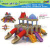 Children Full Plastic Castle Slide Playground Playsets (HD-W-483-10)
