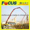 Hot! Radio Remote Control 48m, 52m Truck-Mounted Concrete Boom Pump with Isuzu Chassis