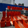 China Fiberglass Reinforced Plastic Flower Terrazzo Planter/Pots for Garden Decoration