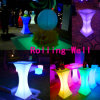 Glowing LED Lighting Cocktail Tables