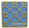 Carved Grille MDF Wooden Decorative Panel (WY-71)
