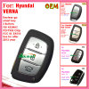 Auto Smart Key for Black for Hyundai Santa Fe 3+1 Buttons 434MHz ID46 Chip Fccid95440 2W500