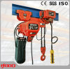 2t Low-Headroom Hoist Crane with Two Chains